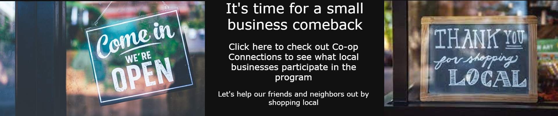 Small Business Comeback